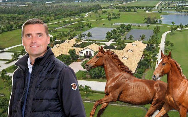 Andreas Helgstrand and 13560 Indian Mound Road (Credit: Facebook, Relator, and iStock)