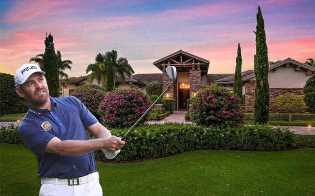 Louis Oosthuizen and 12230 Tillinghast Circle (Credit: Getty Images and Realtor)