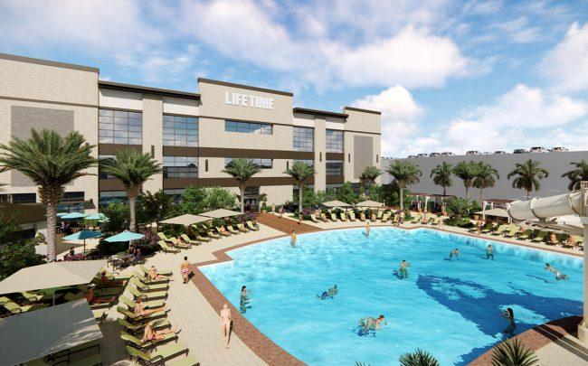 Rendering of Life Time's resort at The Falls