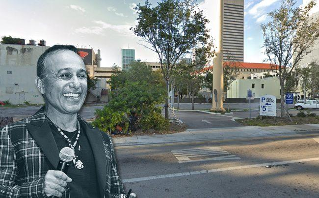 Moishe Mana and 201 Southwest First Street (Credit: Google Maps)