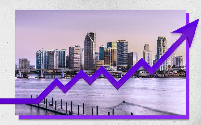 South Florida Resi Contracts Up in July (Credit: iStock)