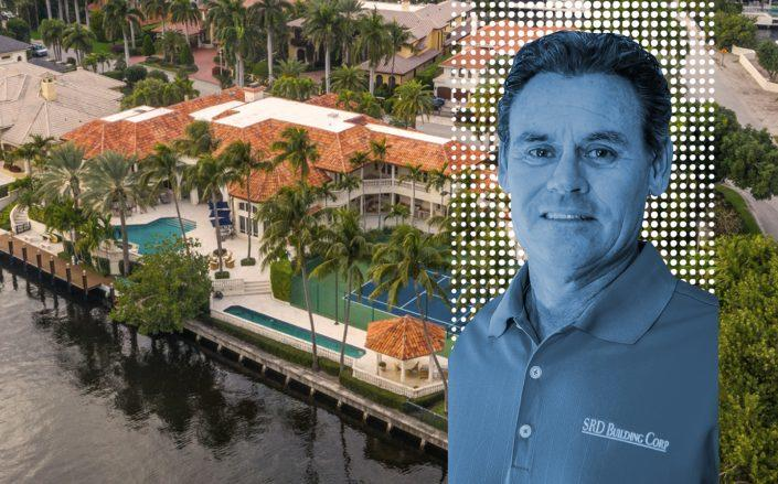 Steven R. Dingle and the property he sold at 298 West Key Palm Road. (SRD Building Corp, Royal Palm)