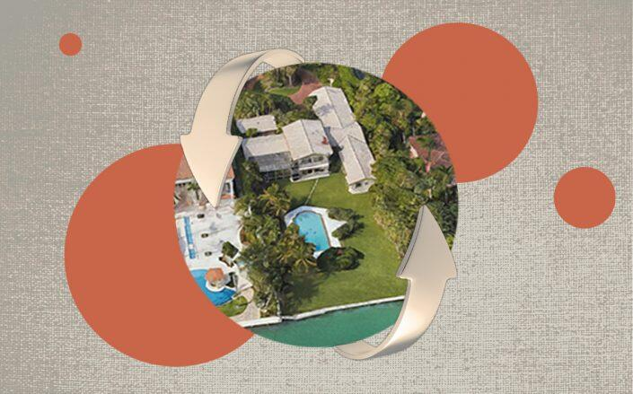 Fonte: https://therealdeal.com/miami/2021/04/15/star-island-buyers-flip-waterfront-home-for-21m/