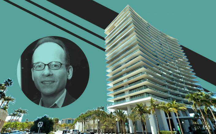 Jeffrey L. Gates and Apogee at 800 South Pointe Drive in Miami Beach (LinkedIn, Google Maps)