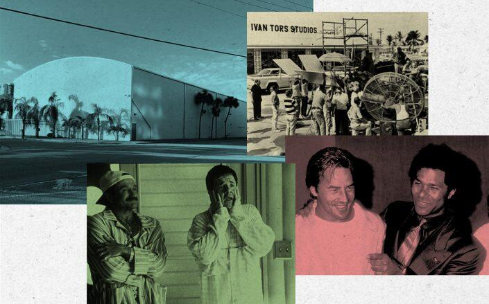 """North Miami Studios and two productions, """"The Birdcage"""" and """"Miami Vice"""" (Getty)"""
