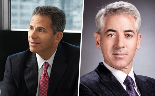 From left: CEO David Weinreb and Chairman Bill Ackman