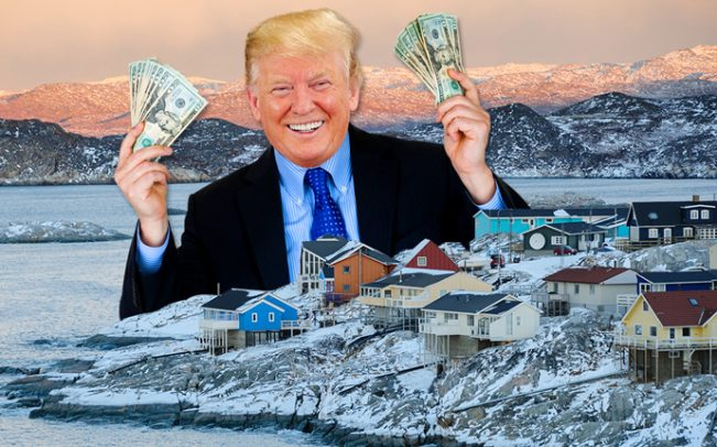 Donald Trump 'has discussed buying Greenland from Denmark'