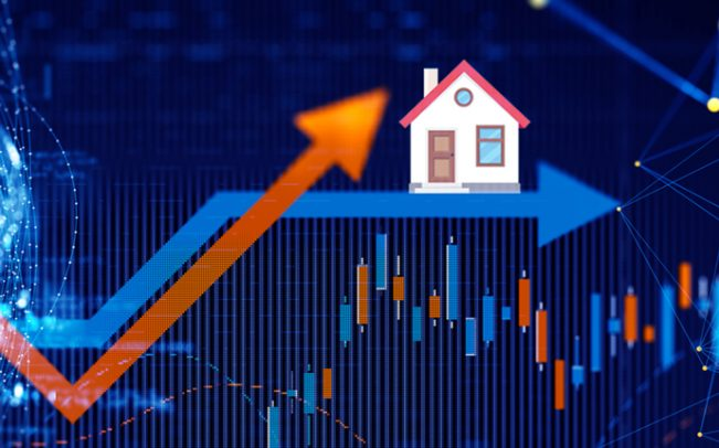 Real estate isn't doing as well as the broader market (Credit: iStock)