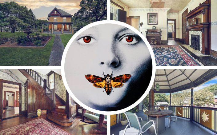 The house where Buffalo Bill lived in Silence of the Lambs. (Orion Pictures, Compass)