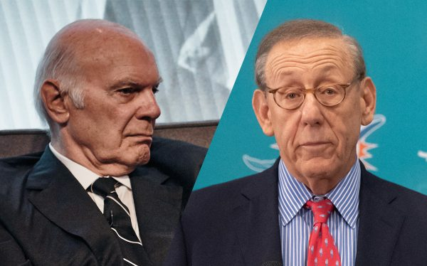 Vornado chairman Steven Roth and Related chairman Stephen Ross (Roth by Misha Friedman/Getty Images; Ross by Mark Brown/Getty Images)
