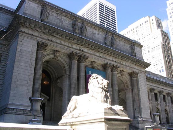 New York Public Library, Fifth Avenue at 42nd Street