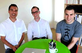 Airbnb founders Nathan Blecharczyk, Joe Gebbia and Brian Chesky