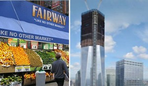 Fairway and One World Trade Center