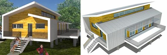 Resilient house (Credit: Sustainable.To Architecture + Building/AIA