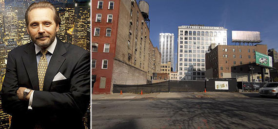 From left: Robert Knakal and 511 West 35th Street
