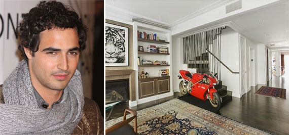 Zac Posen and the penthouse at 16 West 21st Street