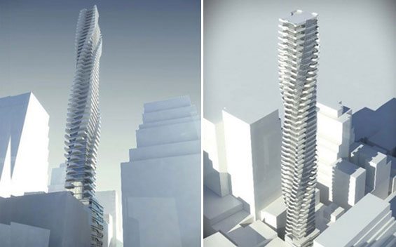 A rendering of 92 Fulton Street (Mavrix Group's Facebook page)