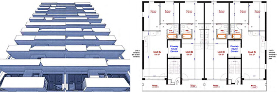 Design and floor plan for 2415 Albemarle Road