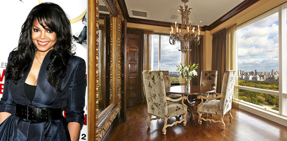 Janet Jackson and the 1 Central Park West apartment
