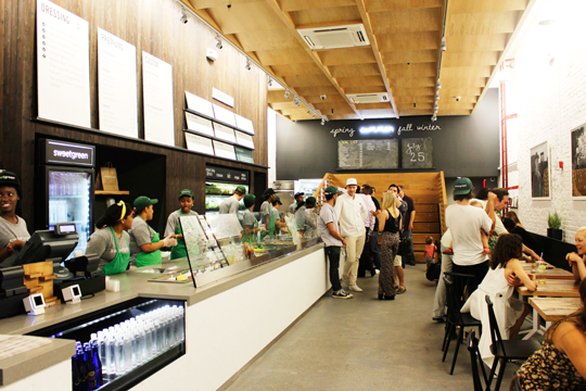 Sweetgreen at 160 North Fourth Street in Brookyn