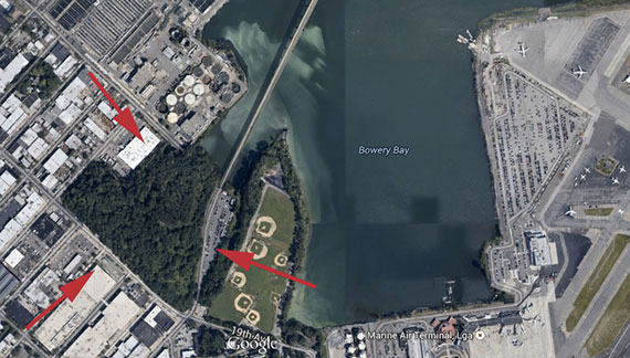 Proposed site for the Astoria Mountain Park