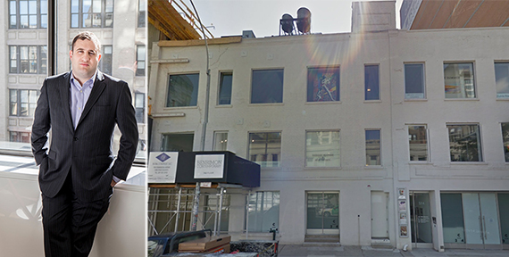 From left: Michael Stern and 514 West 24th Street