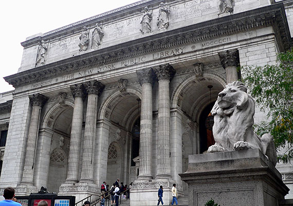 New York Public Library at 455 Fifth Avenue