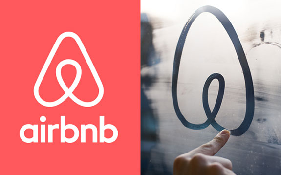 The rollout of Airbnb's new logo didn't quite go as planned.