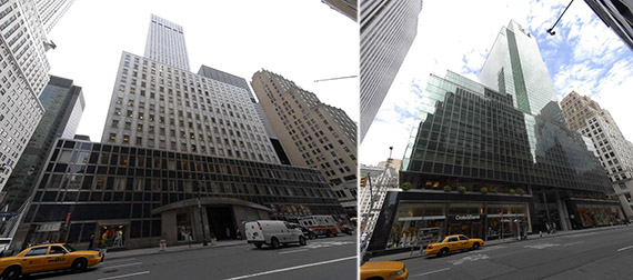 From left: 650 Madison Avenue and 150 East 42nd Street