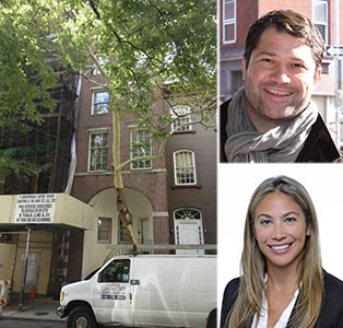 From left: 120 East 78th Street, Bryan Verona and Meredith Verona