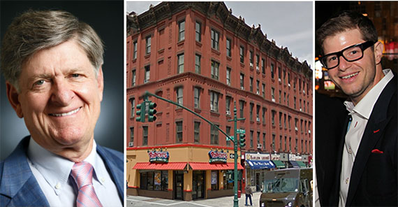 From left: Terry Considine, 2302 Seventh Avenue in Harlem and Steven Vegh