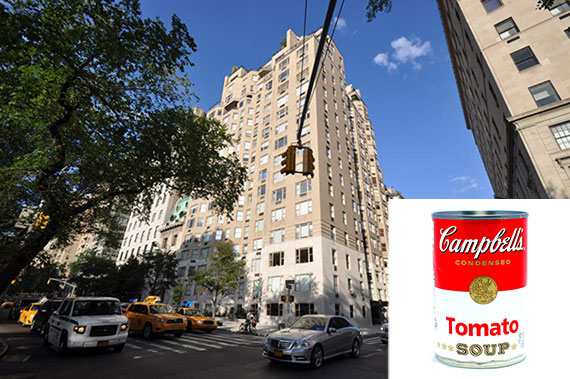 1 East 66th Street and Campbell's Soup