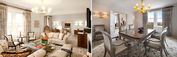 The Presidential Suite at the Pierre Hotel