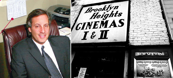 From left: Gerard Longo and the Brooklyn Heights Cinema