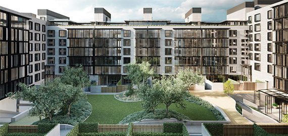 The Oosten in Williamsburg, which is the American debut for China's Xin Development Group International
