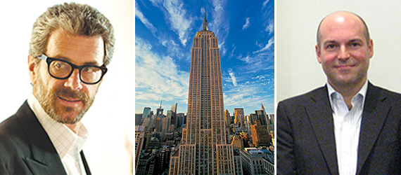 Anthony Malkin, the Empire State Building and Andrew Penson