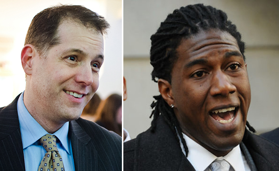 From left: Councilman Mark Levine and Councilman Jumaane Williams