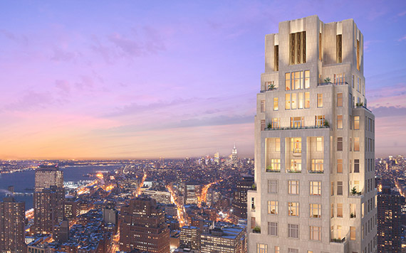 A rendering of 30 Park Place