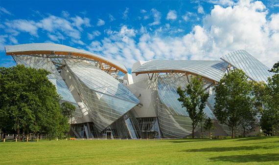 Frank Gehry's new museum in Paris