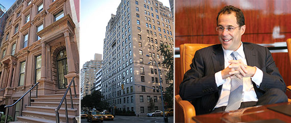 From left: 14 East 63rd Street, 1040 Fifth Avenue and Jeff Blau