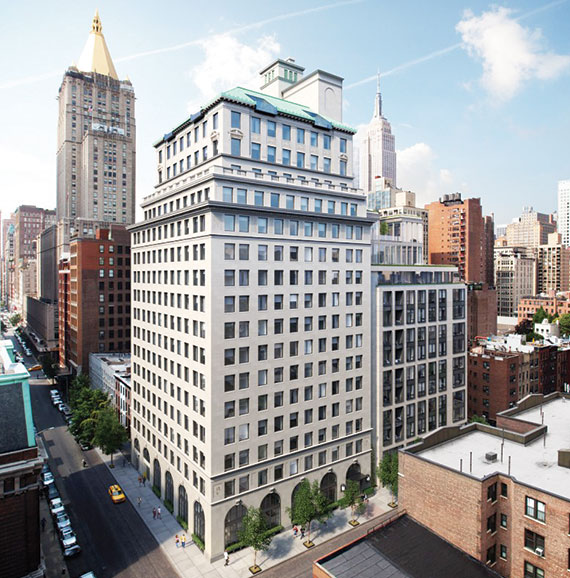 HFZ Capital's 88 and 90 Lexington Avenue, which have 196 units combined