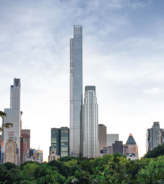 Central Park Nyc: Central Park Tower Extell