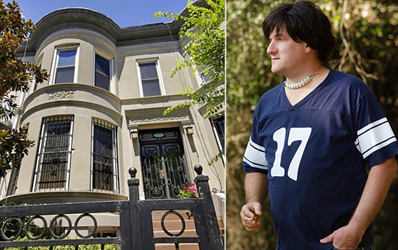 "From left: 25 Clarkson Avenue in Brooklyn and Michael Showalter in ""Wet Hot American Summer"""