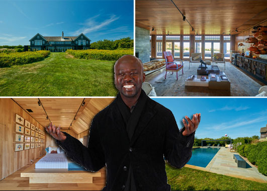 The Montauk estate and David Adjaye