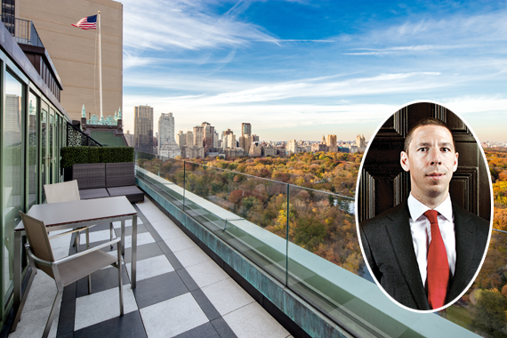 Christian Candy and his Plaza penthouse