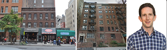 116 Seventh Avenue in Chelsea, 64 Montague Street in Brooklyn Heights and Jordan Vogel of Benchmark Real Estate