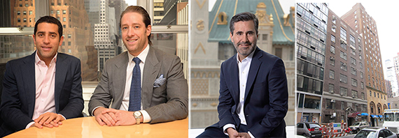 Martin Nussbaum and David Schwartz of Slate, Ari Shalam of RWN and the Murray Hill building