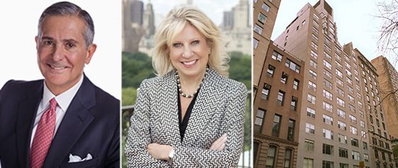 Roger Erickson, Sotheby's CEO Kathryn Korte and 812 Fifth Avenue