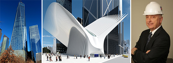 One World Trade Center, the Oculus and Steve Plate