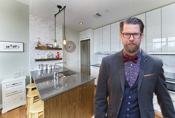 80 Metropolitian Avenue in Williamsburg and Gavin McInnes